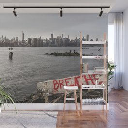 breathe and relax Wall Mural