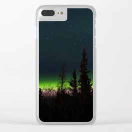 Auroras II Clear iPhone Case