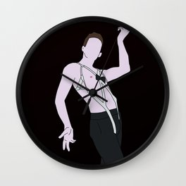 Emcee From Cabaret Wall Clock