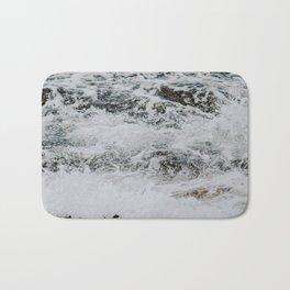 waves iv / sydney, australia Bath Mat