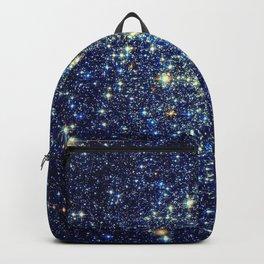 galaxY Stars : Midnight Blue & Gold Backpack