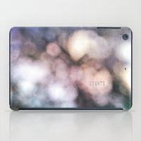 the lights iPad Cases featuring LIGHTS by MadiS