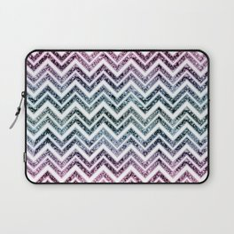 Unicorn Princess Glitter Glam Chevron #1 #shiny #pastel #decor #art #society6 Laptop Sleeve