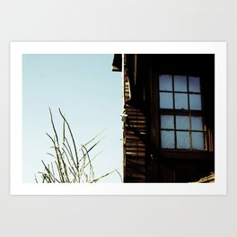 {Indoors in the outdoors} Art Print