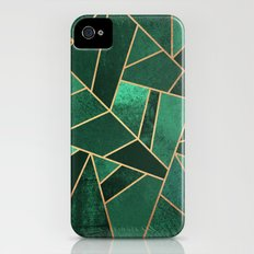 Emerald and Copper iPhone (4, 4s) Slim Case