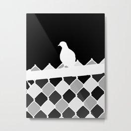 High Bird Metal Print