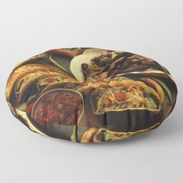 Mexican Food Floor Pillow