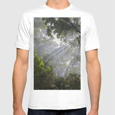 I Saw The Light Mens Fitted Tee White MEDIUM