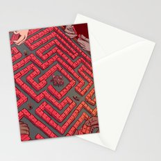 Domino Labyrinth Stationery Cards