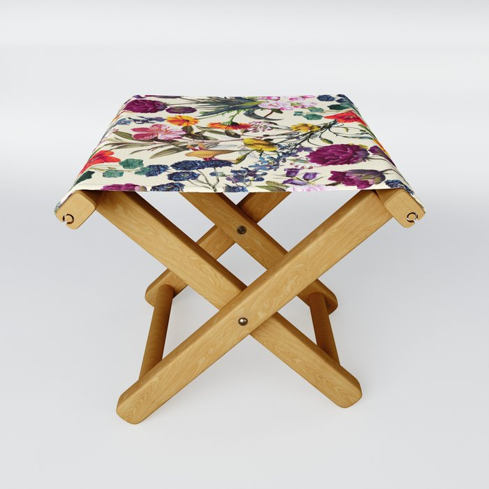 Magical Garden V Folding Stool