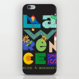 Lawrence, Kansas...weird and wonderful iPhone Skin