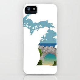 Michigan: Arch Rock iPhone Case