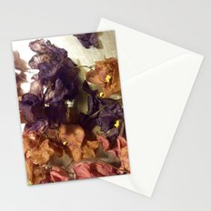 Violets From Another Time Stationery Cards