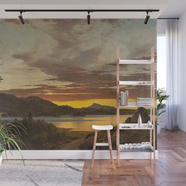 Maine Sunset by Frederic Edwin Church Wall Mural