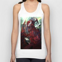carnage Tank Tops featuring Carnage by corverez