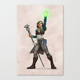 Herald of the Inquisition Canvas Print