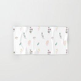 Little botanics pastel pattern Hand & Bath Towel