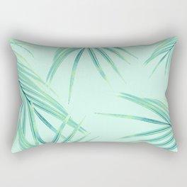 Summer Palm Leaves Dream #1 #tropical #decor #art #society6 Rectangular Pillow