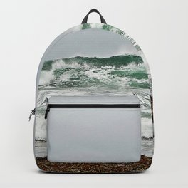 Explosive Green Surf of the St-Lawrence Backpack