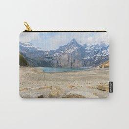 Oeschinen Lake Bernese Oberland Switzerland Carry-All Pouch