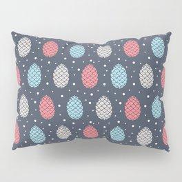 Pinecone Pattern Design / Winter Colors Pillow Sham