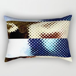 Nonspace of the mind, clusters and constellations Rectangular Pillow