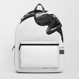 Black panther hematite Backpack