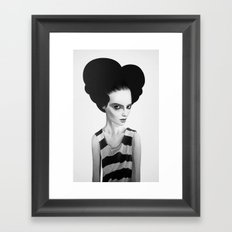 June Framed Art Print