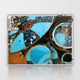Majolica and Hydrangea Laptop & iPad Skin
