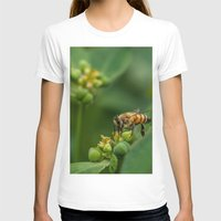 bees T-shirts featuring Bees by Gustavo Aragundi