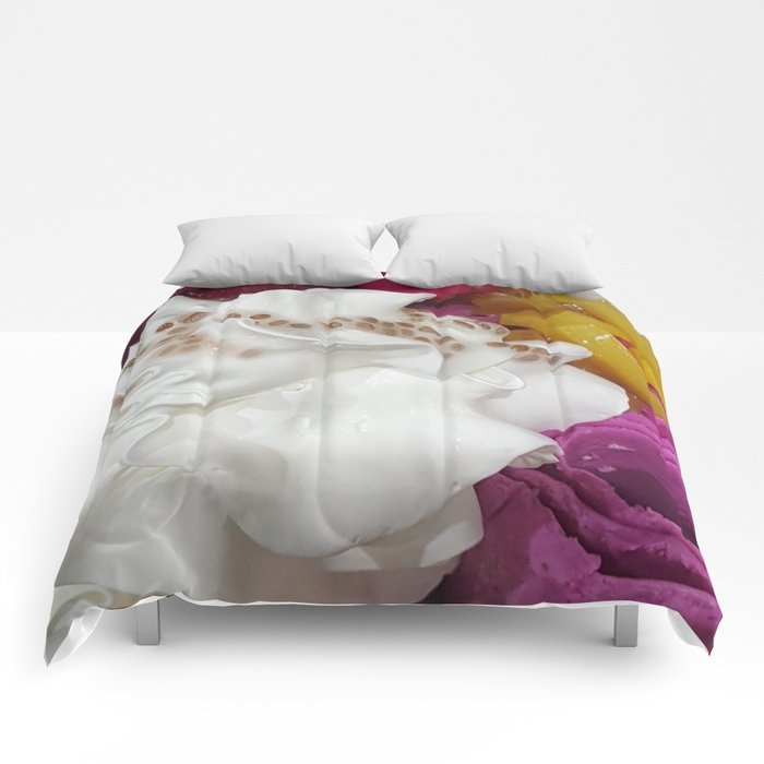 Dragon Rolled Ice Cream Comforters