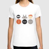 miyazaki T-shirts featuring I Love Miyazaki by Etiquette