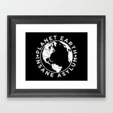 Earth Asylum Framed Art Print
