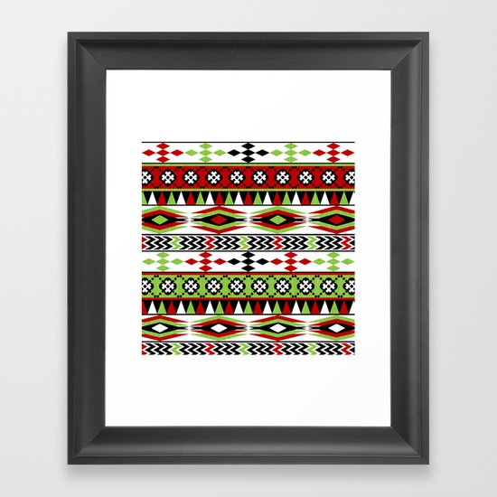 Christmas Jumper... Oh Dear!  Framed Art Print