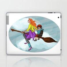 Ginny in flight Laptop & iPad Skin