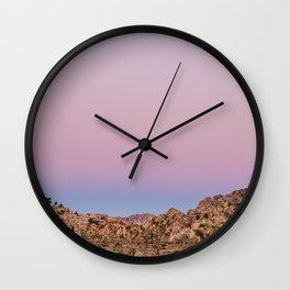 Desert Sunset Wall Clock
