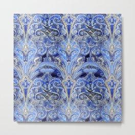 Blue Lights  #society6 #decor #buyart Metal Print