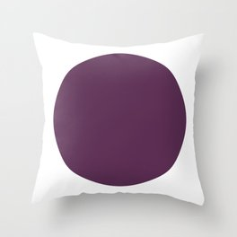 burgundy, burgundy color, burgundy cushion, burgundy home decor, minimalist cushions, modern, geometric, Throw Pillow