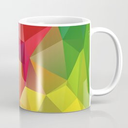 Geometric Rainbow Coffee Mug