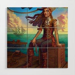 Pirate Commission Wood Wall Art