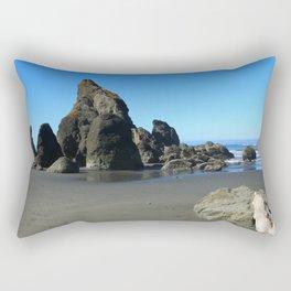 Beauty On Ruby Beach Rectangular Pillow