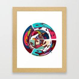 PF (Prato Feito) Framed Art Print