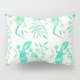 Geckos – Mint Palette Pillow Sham