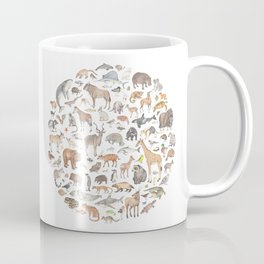 100 animals Coffee Mug