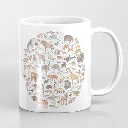 100 animals Coffee Mug