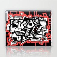 Sketchy Face Laptop & iPad Skin