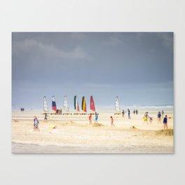 Jeux de plage Canvas Print