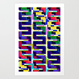 Rainbow Snake Art Print