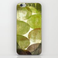 beth hoeckel iPhone & iPod Skins featuring Beth by FYLLAYTA, surface design,Tina Olsson