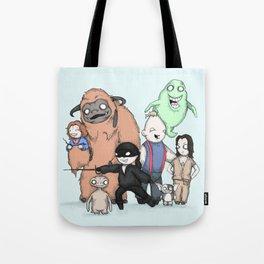Retro Childhood Tote Bag